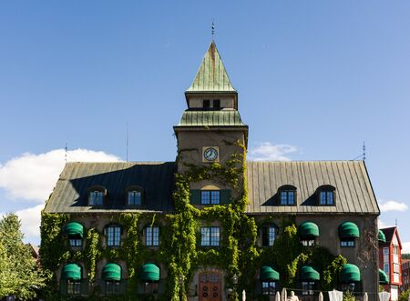 Lillehammer City Hall Building, on a sunny day