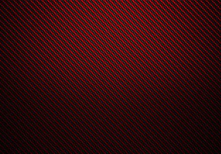 Abstract modern red carbon fiber textured material design for background, wallpaper, graphic design Stock