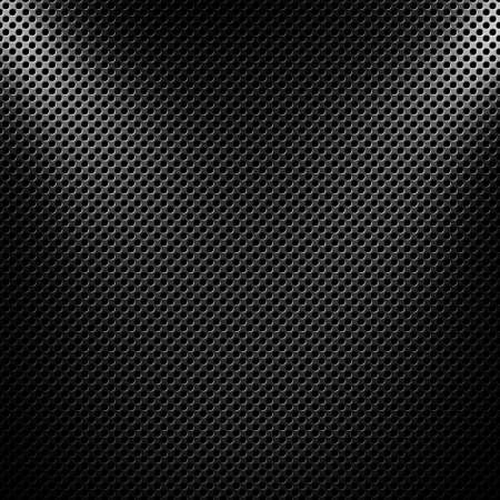 metal mesh: Abstract modern grey perforated metal plate textured material design for background, wallpaper, graphic design