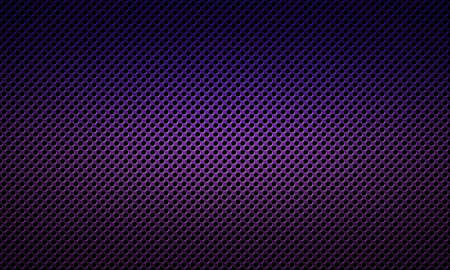 dark fiber: Abstract modern colored perforated metal plate textured material design for background, wallpaper, graphic design Stock Photo