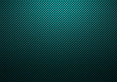 Abstract modern blue perforated metal plate textured material design for background, wallpaper, graphic design