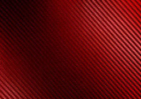 Metallic shiny texture of red carbon fiber self-adhesive paper. Material for racing car modification. Material design for background, wallpaper, graphic design 스톡 콘텐츠