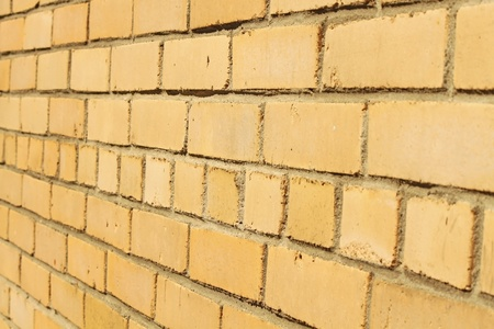 else: Just yellow brick wall, nothing else