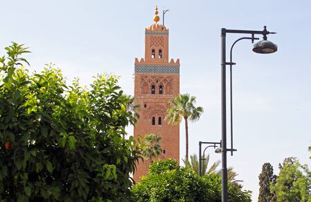 Mosque  Koutoubia in Marrakesh, Morocco  Stock Photo - 15170833