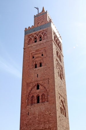 Koutoubia mosque in Marrakesh, Morocco Stock Photo - 15498432