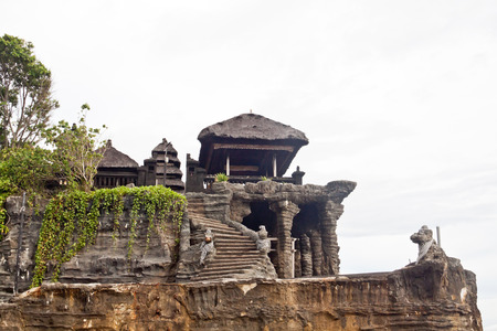 Tanah Lot temple (Bali island, Indonesia) photo