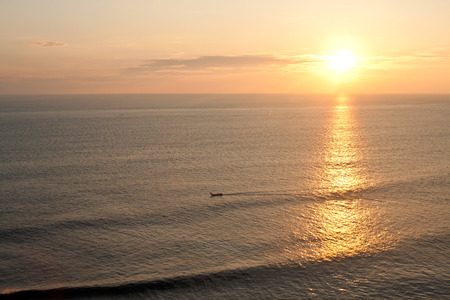 seaview: Beautiful seaview sunset (picture made on Bali island, Indonesia)