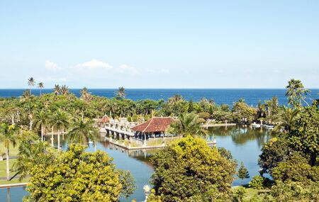 taman: Taman Ujung water palace on Bali