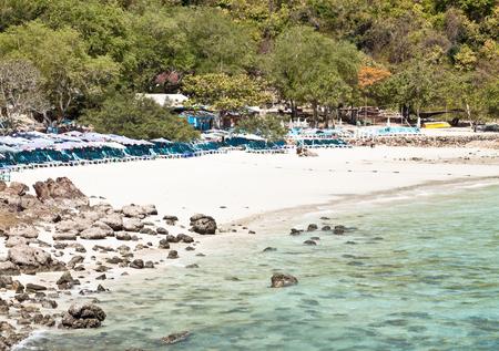 Sangwan beach on Koh Larn (Pattaya, Thailand) Stock Photo