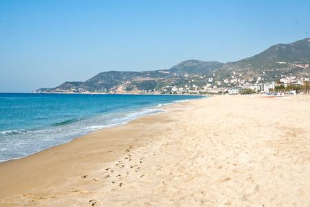 Cleopatra Beach (Kleopatra Beach) in Alanya, Turkey