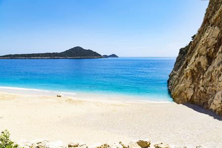 Kaputas beach (Kaputash beach) near Kas city in Turkey
