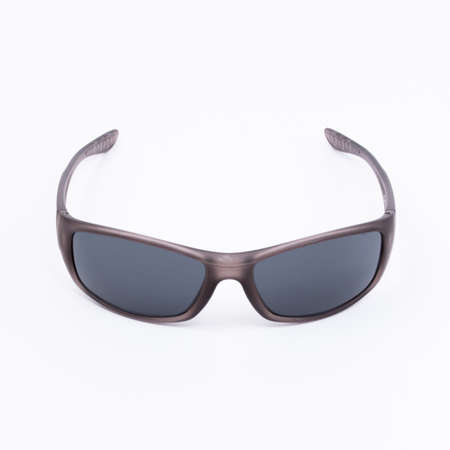 disclosed: sunglasses lie on a white background disclosed