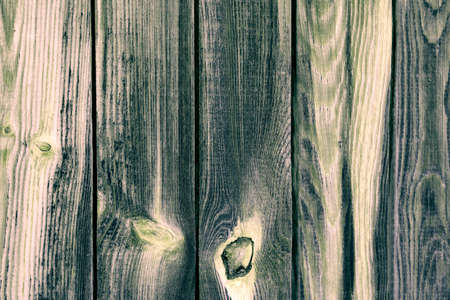 aged wood: the background of the older green boards processed rudely