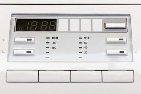 regulator on the control panel of household appliances. details for the advertising designer Stock Photo