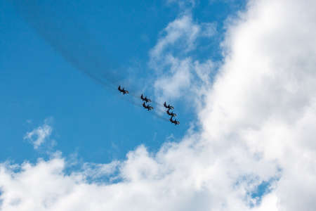 On September 14, 2019, in honor of the City Day, a grand air show of the legendary Swifts was held in Chelyabinsk at the Shagol military airdrome. a