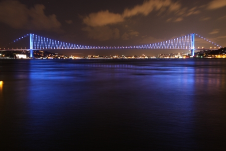 bosporus: Bosphorus Bridge, Istanbul, Turkey Stock Photo