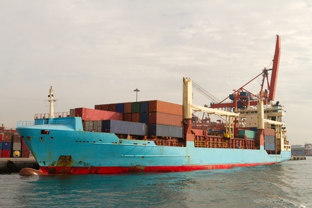 Container Ship Stock Photo - 18559819