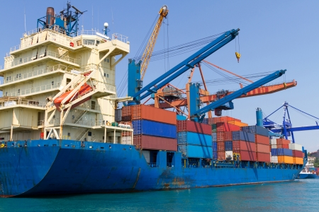 Container Ship Stock Photo - 18564835