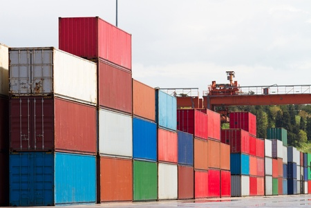 Containers Stock Photo - 18602741