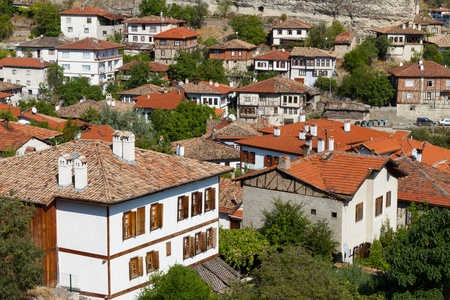 Traditional Ottoman Houses from Safranbolu, Turkey Stock Photo - 18656235