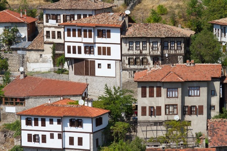 Traditional Ottoman Houses from Safranbolu, Turkey Stock Photo - 19017866