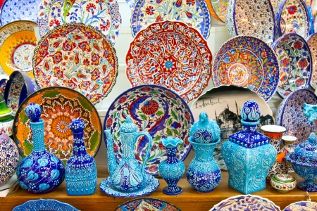 porcelain flower: Turkish Ceramics