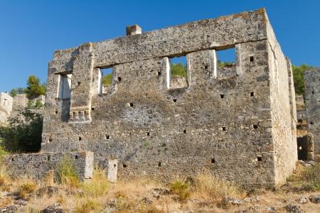 Ruins of Kayakoy, Fethiye Stock Photo - 19476149