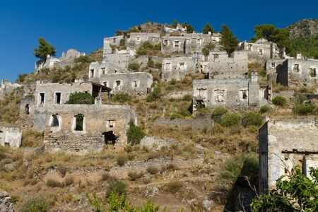 levissi: Ruins of Kayakoy, Fethiye