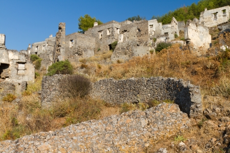 Ruins of Kayakoy, Fethiye Stock Photo - 19840359