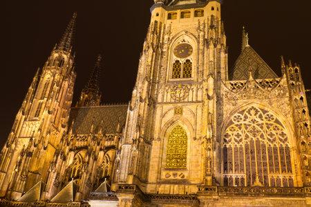 vitus: St  Vitus Cathedral, Prague, Czech Republic Editorial