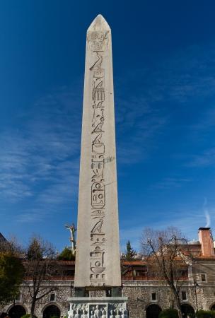 Obelisk of Theodosius from Istanbul, Turkey photo