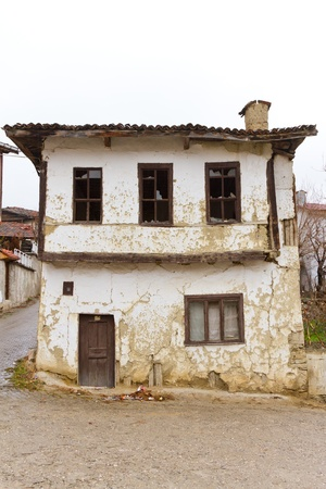An Old, Abandoned Traditional Building from Tarakli, Turkey Stock Photo - 21498234