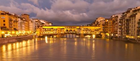 ponte vecchio: Ponte Vecchio, Florence, Italy Stock Photo