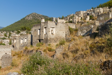 Ruins of Kayakoy, Fethiye Stock Photo - 21499915
