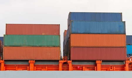 Container Ship Stock Photo - 21501113