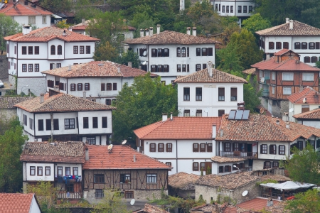 Traditional Turkish Houses from Safranbolu photo