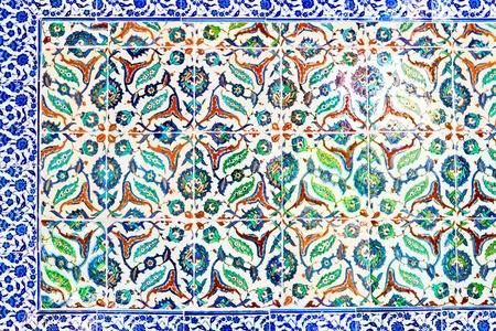 Handmade Blue Tiles from Topkapi Palace