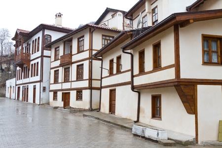 Old Traditional Buildings from Goynuk, Turkey Stock Photo - 21626806