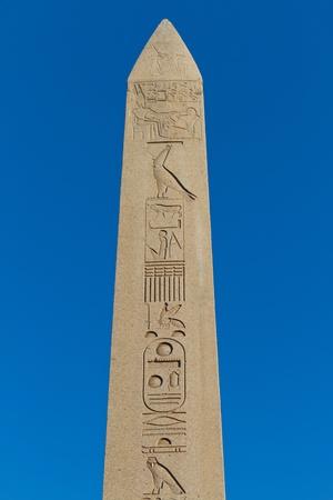 obelisk stone: Obelisk of Theodosius from Istanbul, Turkey Stock Photo