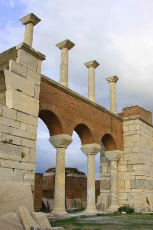 st john: Basilica of St  John, Selcuk, Izmir, Turkey Stock Photo