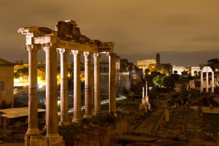 Roman Forum, Rome, Italy Stock Photo