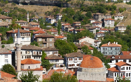 Traditional Ottoman Houses from Safranbolu, Turkey photo
