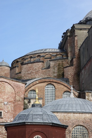 hagia sophia: Hagia Sophia, Istanbul, Turkey Stock Photo