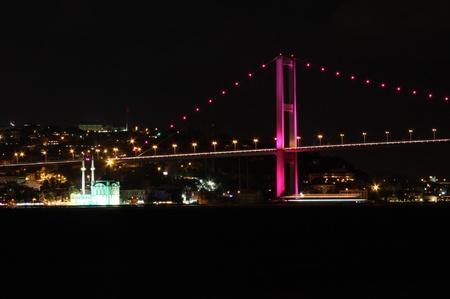bogazici: Bosphorus Bridge Stock Photo