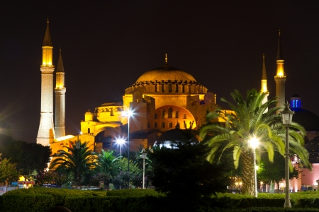 Hagia Sophia museum from Istanbul, turkey photo