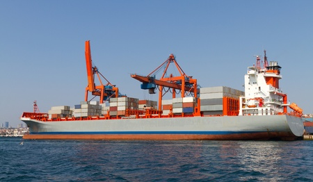 Container Ship Stock Photo - 21812670