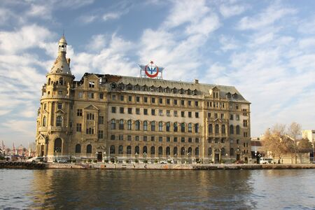 kadikoy: Haydarpasa Train Station, Istanbul, Turkey Editorial