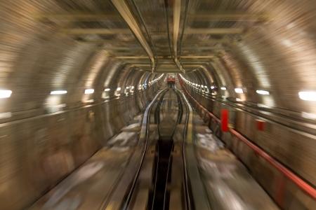 Karakoy Tunnel Stock Photo