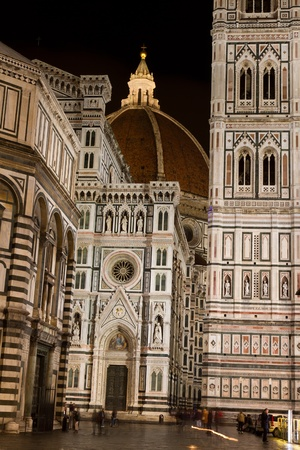 Florence Cathedral, Florence, Italy Editorial