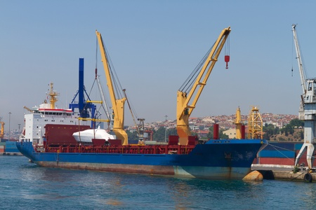 Cargo Ship Stock Photo - 21910252